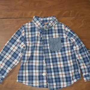 Baby boy size 24 months button down shirt